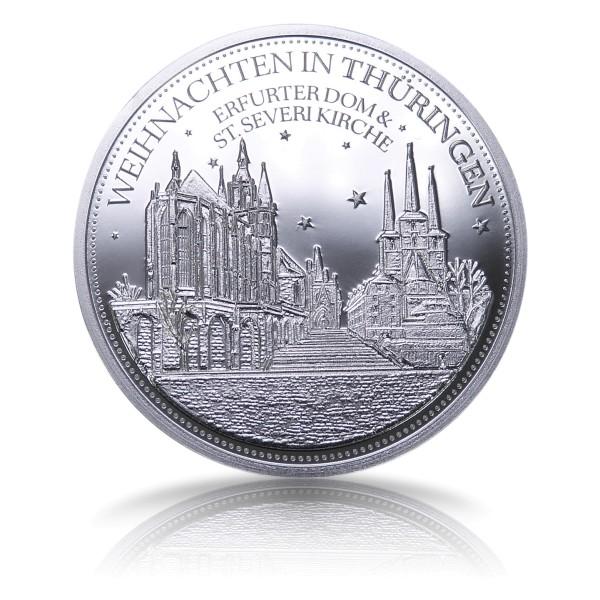 Thüringer Weihnachtstaler 2020 Feinsilber