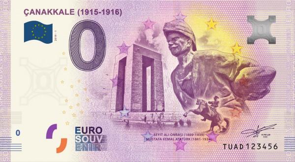 0 Euro Schein Canakkale 1915-1916