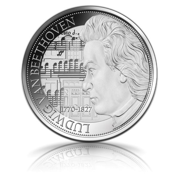 250. Geburtstag Ludwig van Beethoven Silbermünze