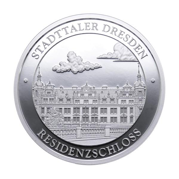 Stadttaler Dresden 2018 – Residenzschloss