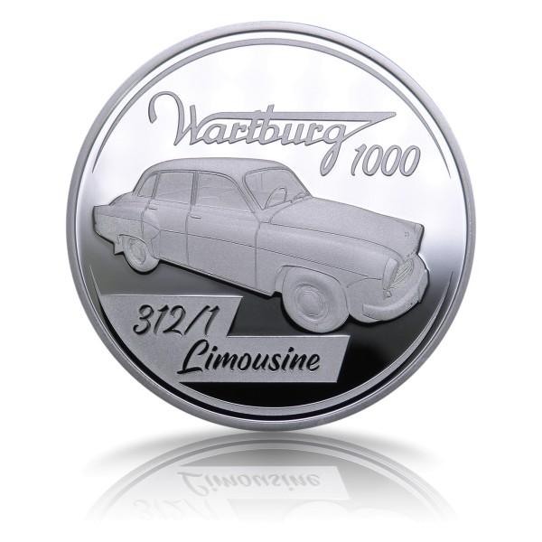 Der Wartburg 1000 Sonderprägung