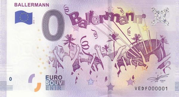 0 Euro Schein Ballermann