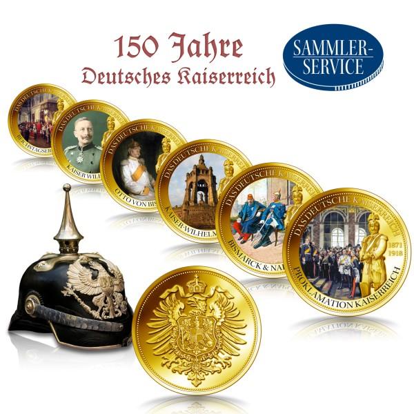 150 Jahre Deutsches Kaiserreich Set