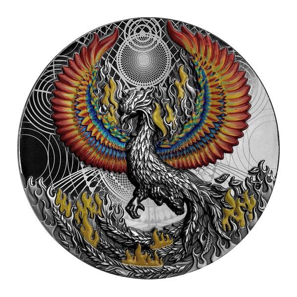 Phoenix Silbermünze