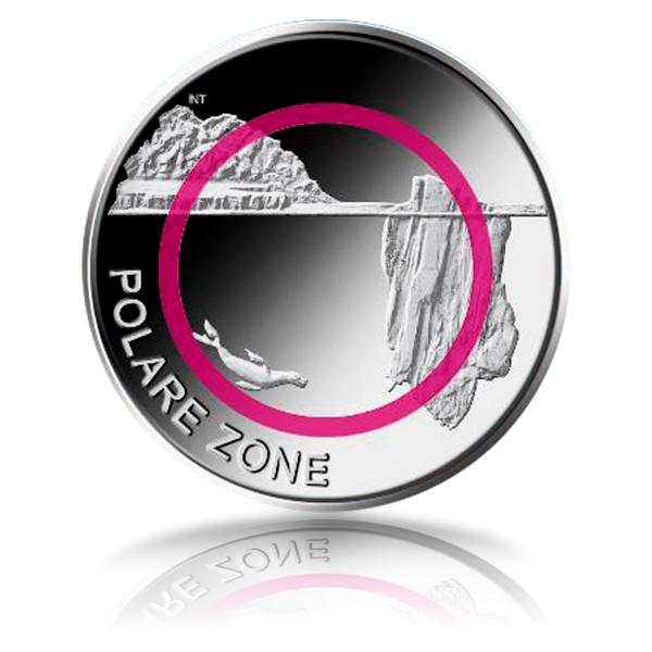 5 Euro Polare Zone
