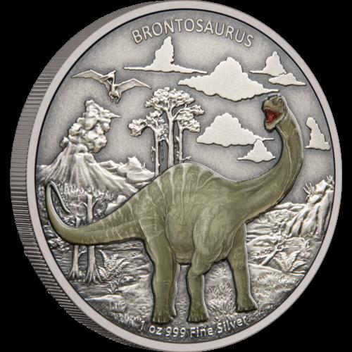 Dinosaurs - Brontosaurus Vorderseite