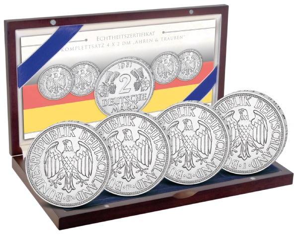 Münzset 2 DM 70. Jahre Bundesrepublik Deutschland