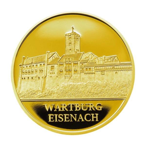 100 Jahre Thüringen - Wartburg - Feingold