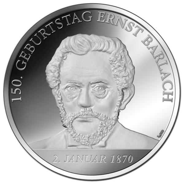150. Geburtstag Ernst Barlach Sonderprägung