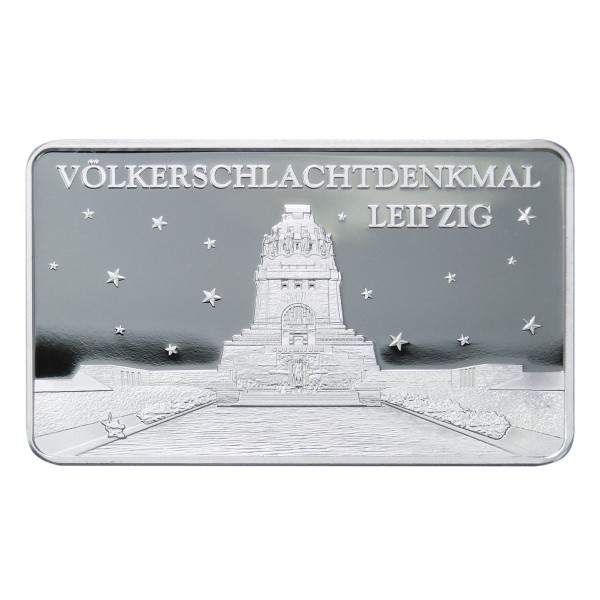 Völkerschlachtdenkmal in Leipzig Silberbarren