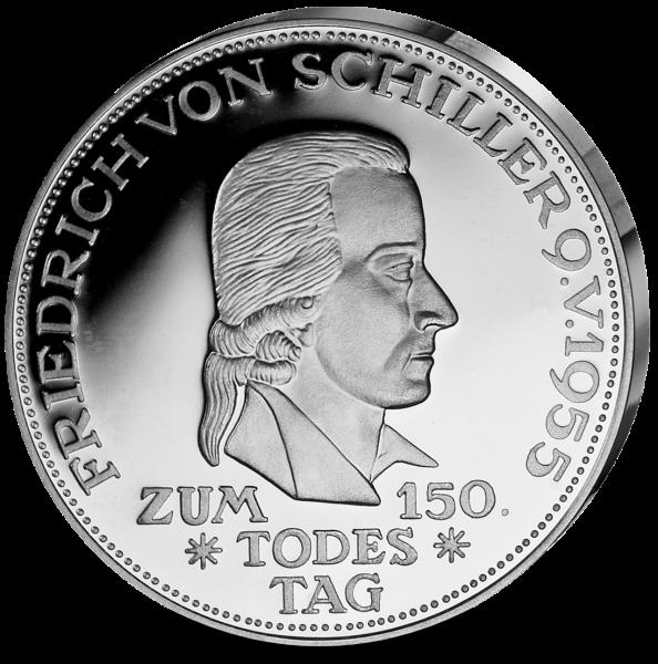 """5 DM Silber-Replik """"Friedrich Schiller"""""""