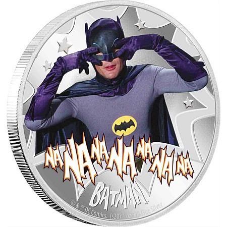 Batman Münze - Eine offizielle DC Prägung