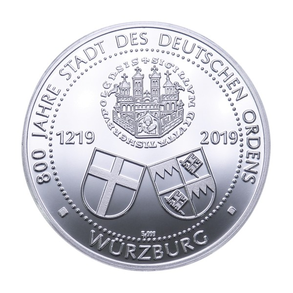 800 Jahre Deutscher Orden Sonderprägung