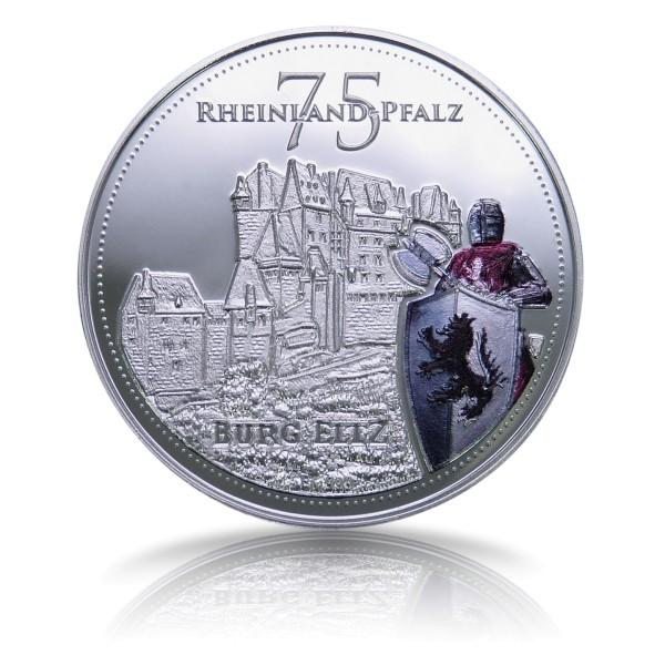 75 Jahre Rheinland Pfalz Sonderprägung - Burg Eltz