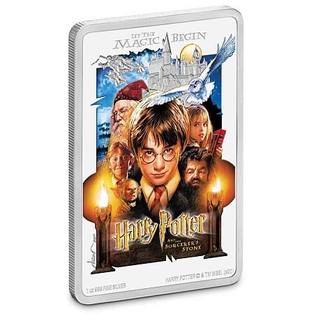 Harry Potter Filmplakat als offizielle Münze